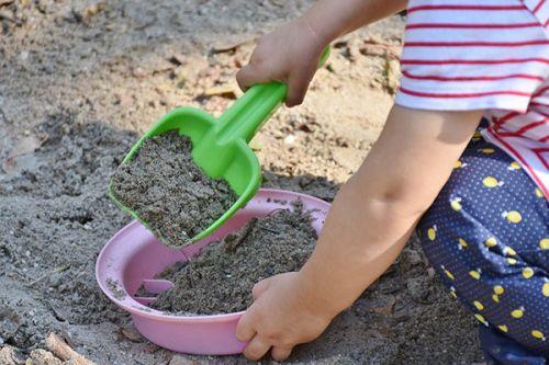 Spiele im Sandkasten